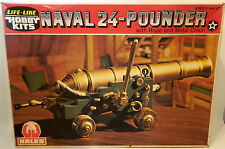 ARMY : NAVAL 24 POUNDER CANNON MODEL KIT MADE BY HALES