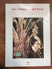 Las Palmeras del Peru: Colecciones, Patrones de Distribucion Geografica, Ecologi