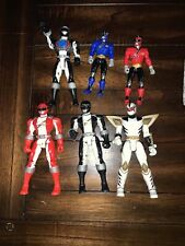 Mixed Lot Of  Action Figures Power Rangers
