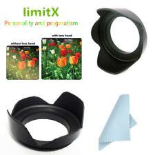 72mm Flower Lens hood Shade for Fujifilm X-T4 X-T3 X-T2 w/ XF 16-80mm F4 R Lens