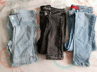 lot de pantalons jeans enfant ado jennyfer en bon état