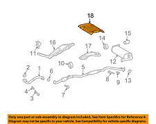 TOYOTA OEM 09-13 Matrix 2.4L-L4 Exhaust-Heat Shield 5832702170