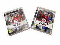 Bundle FIFA 10 & FIFA 11 Playstation 3. EA Sports. PS3 (2 x Games)  -Tested-