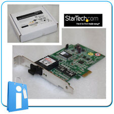 Tarjeta de Red Fibra PCI Express 1x StarTech PEX1000MMSC conector SC pcie