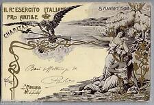 PETROPOLI Regio Esercito Italiano Pro Antille WWI PC Viaggiata 1902