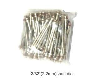 50 pieces Screw Rotary Mandrel 2.2mm shaft adaptor  for Dremel or foredom