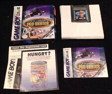 Tony Hawk's Pro Skater Game Boy Color GBC Game Complete Skateboard  Cool