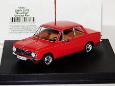 BMW 2002 ROAD CAR VERONA RED TROFEU 1701R 1/43