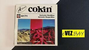 COKIN - FILTRO A171 VERICOLOR RED/BLUE - per fotocamera up to 62mm