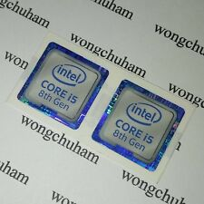 intel CORE i5 8th Gen Sticker 18mm x 18mm ( 8th Generation ) - { 2 PCS PER LOT }