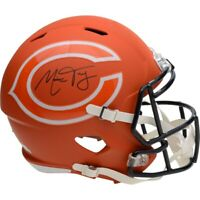MITCHELL TRUBISKY Autographed Chicago Bears AMP Speed Helmet FANATICS