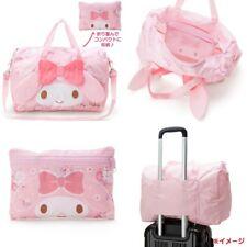Japan My Melody Pink Cartoon Women Handbag Large Travel Carry Bag + Small Bag