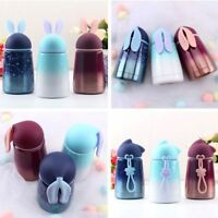 Cartoon Stainless Steel Vacuum Flask Cute Kids Thermos Water Bottle Travel Drink