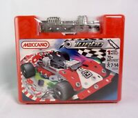 Meccano Turbo Set 2350A Model Racing Car 2010 Vehicle Collectable - New & Sealed