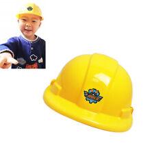 Children Hard Hat Simulation Safety Helmet Pretend Role Play Hat Toy Gift BKM
