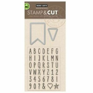 Hero Arts Stamp & Cut YOU CHOOSE! All your Favorite Clear Stamps and Match Dies