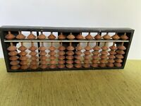 Vintage Japanese Wood Datura Abacus 13 Column 78 Beads