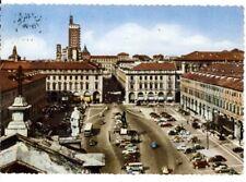 TORINO - PIAZZA SAN CARLO - 1957 - ACQUARELLO
