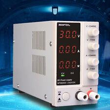 Precision Variable Dc Power Supply Regulated Adjustable Digital Lab Grade 300w