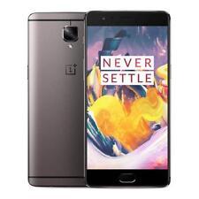 OnePlus 3 - 64GB -6GB- DUAL SIM- Gun metal 4G ~UNLOCKED~ Smartphone Grade-B