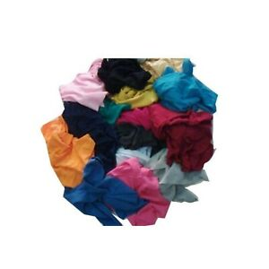 3kg Lint Free Cotton Cleaning Polishing Cloths Rags Wipers Bag Of Rags All Purpo
