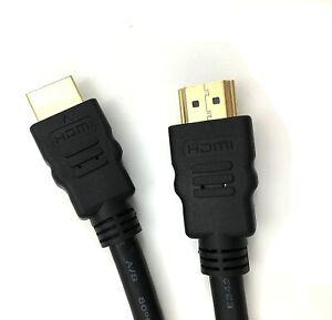 Premium Video HDMI Cable Lead v1.4 Gold High Speed HDTV UltraHD 2K 1080p 3D
