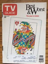 Canada The Best And The Worst TV Guide Magazine 1987 Oshawa  Edition