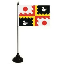 Tischflagge Eijsden-Margraten (Niederlande) Fahne Flagge 10 x 15 cm