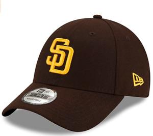 San Diego Padres New Era Men's League 9Forty Adjustable MLB Baseball Hat