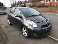 2010 TOYOTA YARIS 1.4 D-4D TR 5DR £20 YEAR ROAD TAX DAMAGED REPAIRABLE SALVAGE