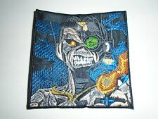 IRON MAIDEN SOMEWHERE IN TIME EMBROIDERED PATCH