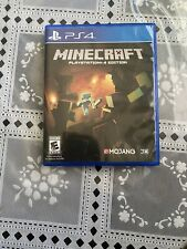 Minecraft: PlayStation 4 Edition (Sony PlayStation 4, PS4) Free Shipping