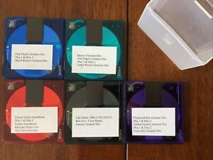 Sony Mini Disc Recordable MD - Single Disc Collection Of 5