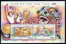 [W] Christmas Is 1994 Lunar Year of the Dog MS Mint NH