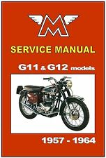 MATCHLESS Workshop Manual G11 G11CS G12 1957 1958 1959 1960 1961 1962 1963 1964