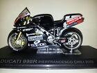 Ixo 1:24 Motorbike Ducati 998R Pierfrancesco Chili 2002 - Rare