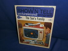 Vintage Ge Show'N Tell The Sun's Family Picturesound Program  00004000 1964
