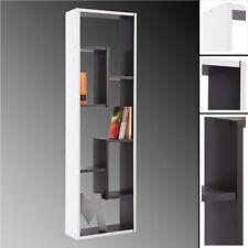 REGAL GRAPHIT #521 schwarz weiß CD-Regal Bücherregal Büroregal Schrank Holz DVD