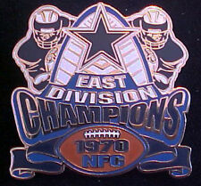 DALLAS COWBOYS 1970 NFC EAST DIVISION CHAMPIONS WILLABEE & WARD COMM SERIES PIN