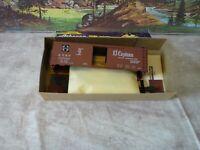 Athearn # 5013 Santa Fe El Capitan 40 ft. w/ Map Boxcar 1/87 HO C 10 NIB