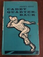 Cadet Quarterback By Sidney Offit 1st Edition 1961  Hardcover Exlib