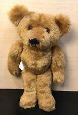"10"" Vintage 1984 Hallmark Bo-Bo bear Sewn Articulating Stuffed Plush Animal"