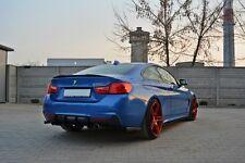 Dachspoiler Ansatz schwarz BMW 4er F32 Spoiler Heck Aufsatz M Performance Paket