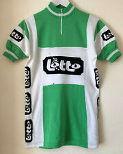 Classic Lotto Team Acrylic Cycling Jersey, Size 4, By Alex Sport