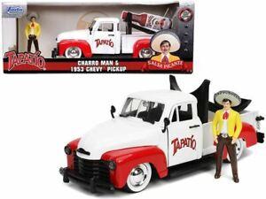 1:24 Charro Man w/1953 Chevrolet Pickup Truck -- Tapatio JADA