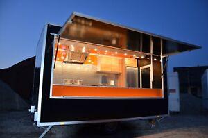 Imbisswagen Imbissanhänger Verkaufsanhänger Food-Truck Nr. 101