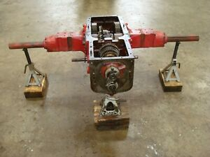 1941 Farmall H Tractor Transmission Rearend Assembly Differential Axles Gears