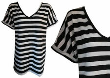 Unbranded Graphic Tee Striped T-Shirts for Women