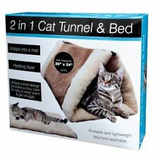 2 IN 1 CAT TUNNEL& BED WITH HEATING LAYER  (KVSPM6SBA)