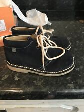 Desert Boot Kids, Navy Suede - Spanish
